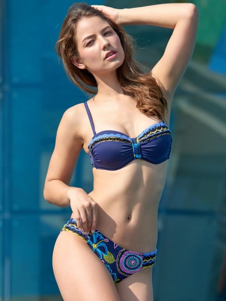 Ribbon Color Matching Bikini