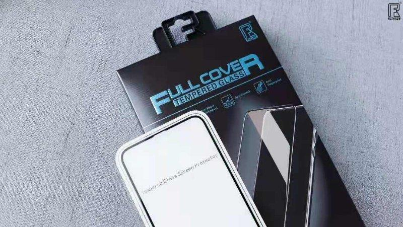 Full Cover 2.5 D Tempered Glass Screen Protector for iPhone (ROFI)