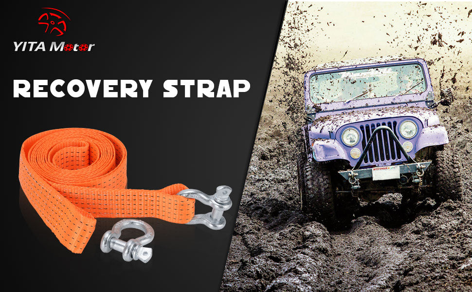 Recovery Tow Strap