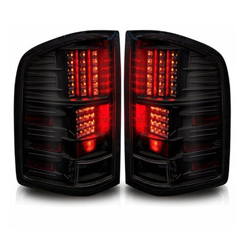 LED Tail Lights for 08-13 Chevy Silverado 1500,08-14 Silverado 2500 & 3500(Fit 2007 New Body Style), for 07-14 GMC Sierra 3500HD(Dual Rear Wheel ONLY) - YITAMotor