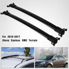 Compatible for 2010-2017 Chevy Equinox / GMC Terrain Cross Bar Roof Rack 2PC Pair(Black) - YITAMotor
