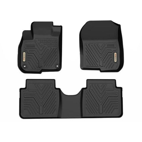 Floor Mats Floor Liner for 2017-19 Honda CR-V 1st 2nd Row All Weather Protection - YITAMotor
