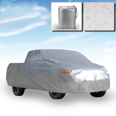 Premium Truck Cover Outdoor Tough Waterproof Sun UV Rain Heat Resistant Pickup-1