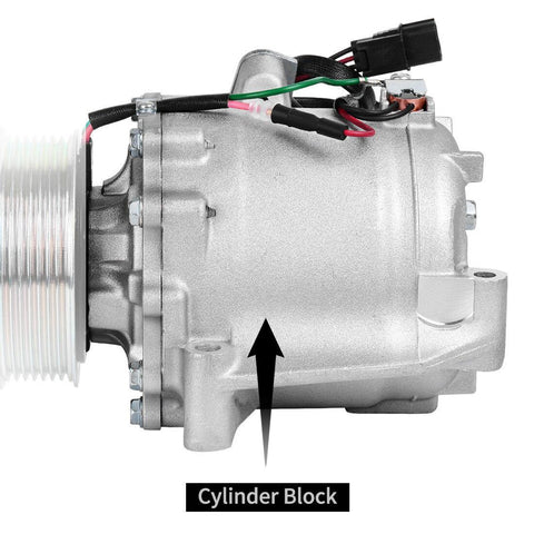 A/C AC Compressor And Clutch for Honda Civic 1.8L 2006 2007 2008 2009 2010 2011 - YITAMotor