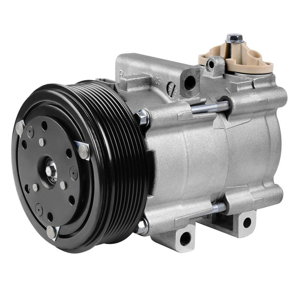 A/C Compressor w/ Clutch ACC58152 For 1997-07 Ford F-150 F-350 Super Duty 6.0L - YITAMotor