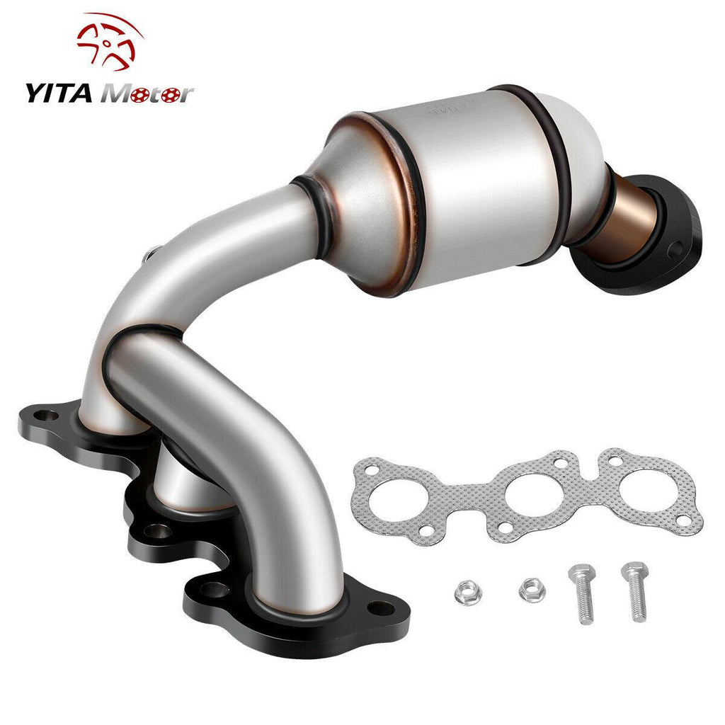 Catalytic Converter for 2004-2006 Toyota Sienna FWD/Lexus RX330,04-07 Toyota Highlander 3.3L|Driver Side|Direct-Fit High Flow Series(EPA Compliant)