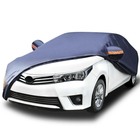 Full Car Cover Waterproof Breathable PEVA All Weather Protection Anti Scratch