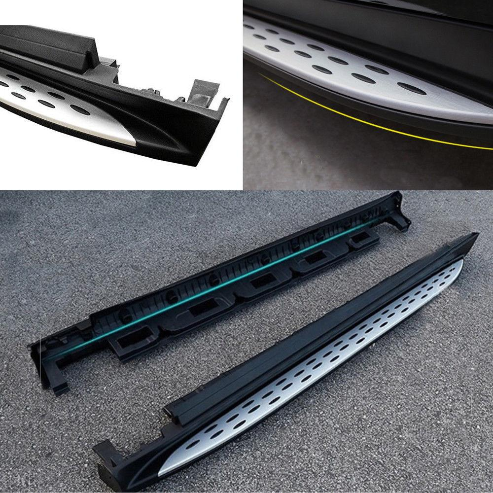 For 2012 2013 2014 2015 2016 2017 Merceder-Benz W166 ML ML350 ML550 GLE Side Step Nerf Bars Running Board - YITAMotor