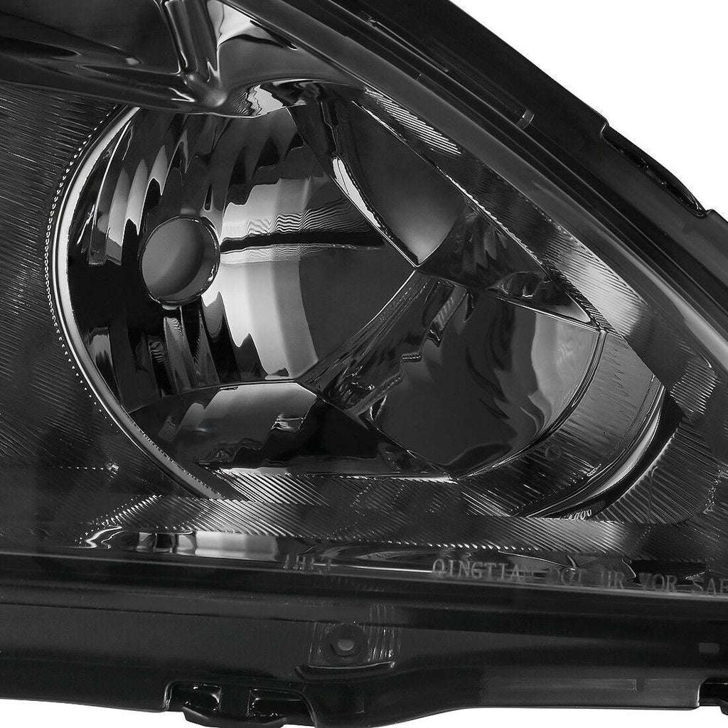 Headlight Assembly Fits for 2003 2004 2005 2006 2007 Honda Accord Replacement Headlamp,Chrome Housing Clear Lens - YITAMotor