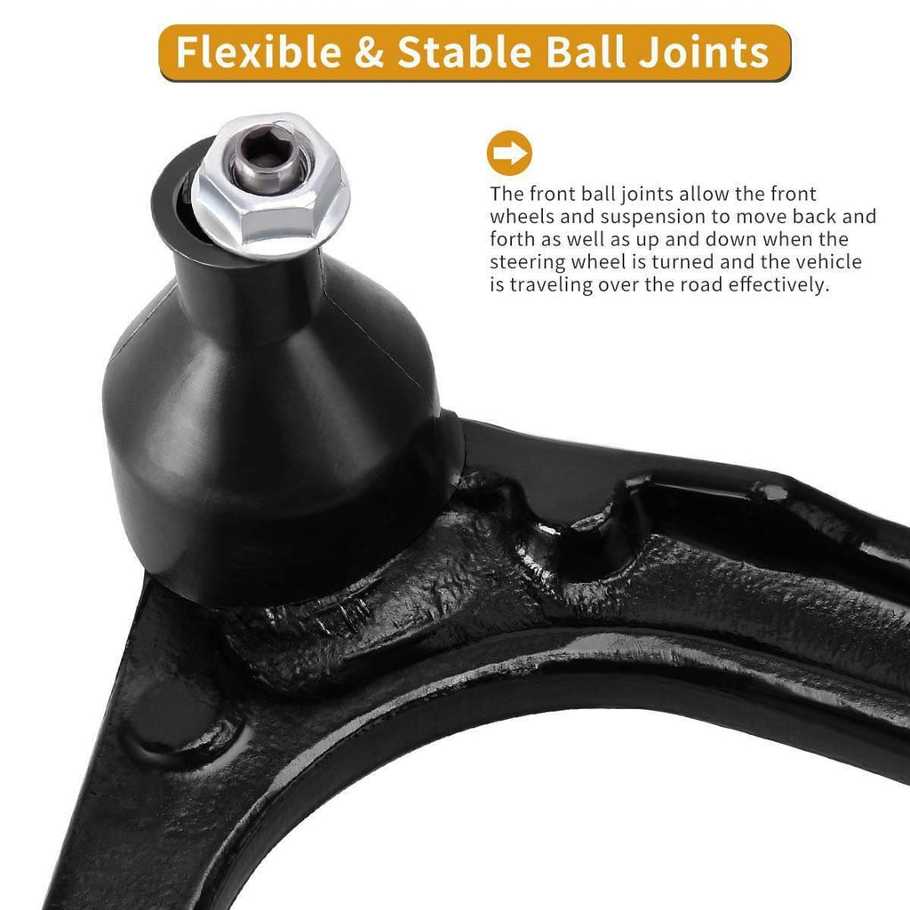 Front Suspension Control Arm And Ball Joint Assembly Kit For Chevrolet Silverado 1500 GMC Sierra Tahoe Suburban Yukon Cadillac XL Avalanche Escalade ESV EXT