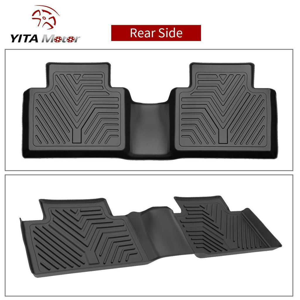 YITAMOTOR Floor Mats, for 2014-2020 Nissan Rogue Floor Liners, 1st & 2nd Row All Weather Protection(No Rogue Sport or Select Models)