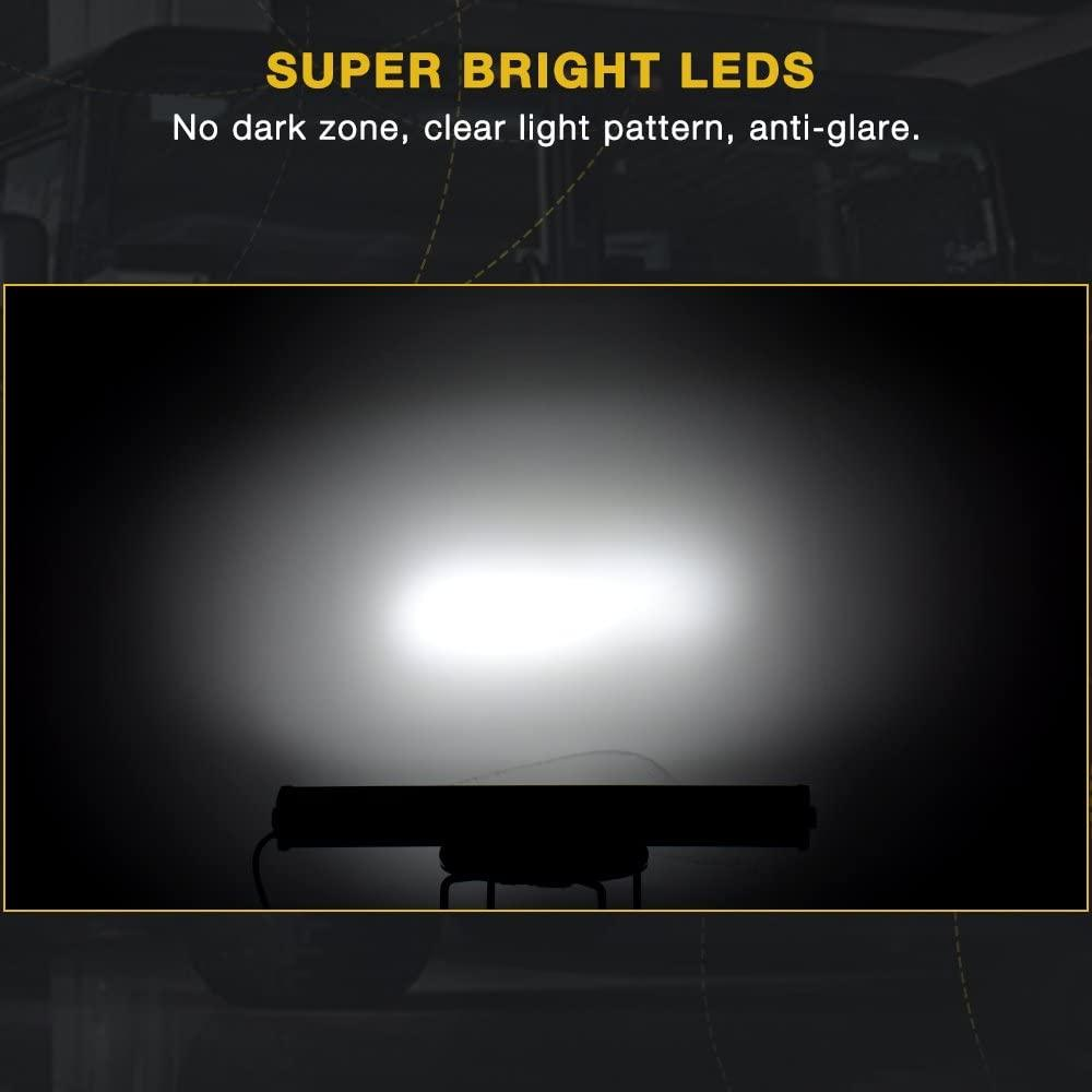 "42"" LED Light Bar Triple Row 540W Flood Spot Combo Beam with Wiring Harness"
