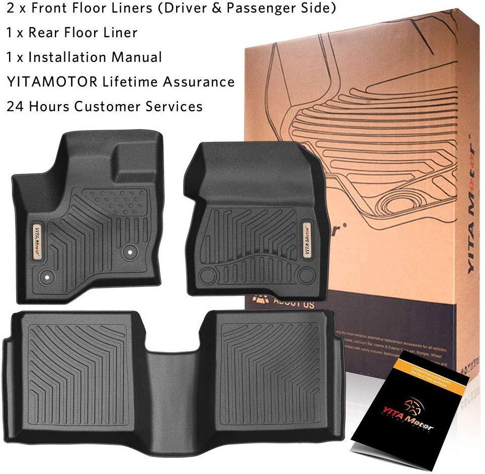 Custom Fit Floor Liners for 2015-2019 Ford Escape YITAMOTOR Floor ...