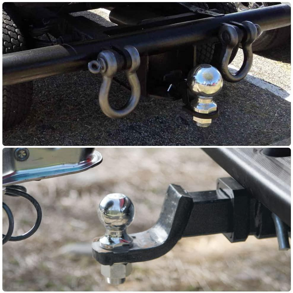 Yitamotor Trailer Hitch Ball Mount With 2 Inch Trailer Ball Hitch Pi Yitamotor
