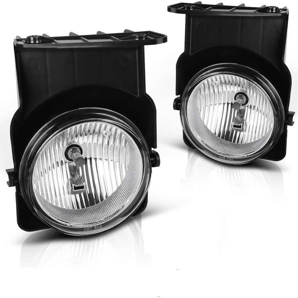 Fog Lights H10 12V 42W Halogen Lamp Compatible with 05-07 Chevy Silverado/05-07 GMC Sierra - YITAMotor