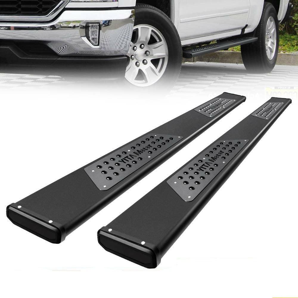 "for 07-18 Chevy Silverado/Sierra Crew Cab 6"" Running Boards Nerf Bars Side Steps"