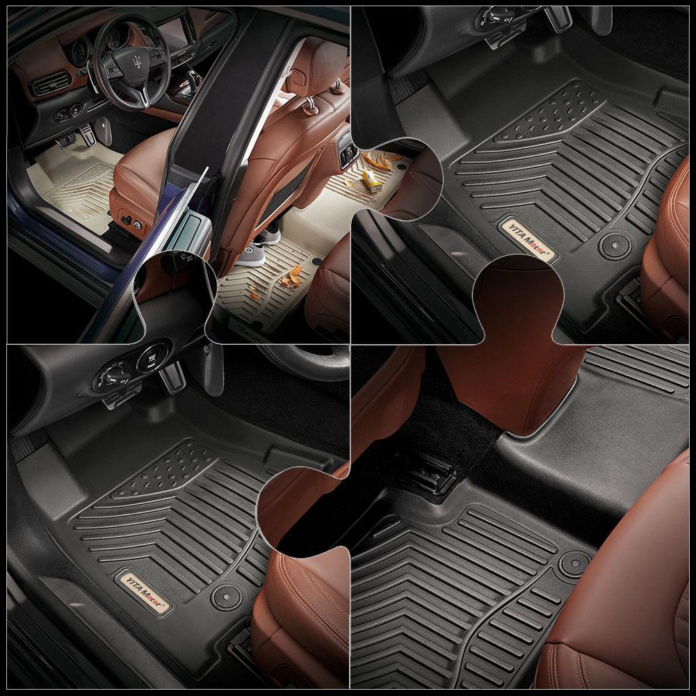 Floor Mats for 2014-2018 GMC Sierra 1500 Extend Cab