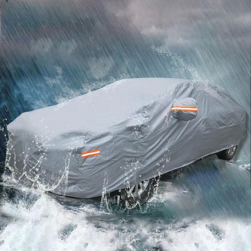 SUV Full Car Cover Waterproof All Weather Protection Rain Snow Dust Resistant - YITAMotor