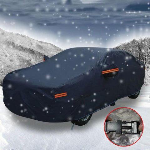 Full Car Cover Waterproof Breathable Sun UV Rain Snow Dust Resist Protection - YITAMotor