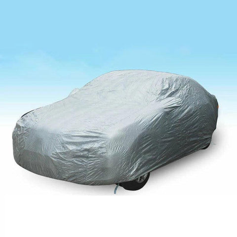 Full Car Cover Waterproof Outdoor Breathable for Car All Weather Protection US - YITAMotor