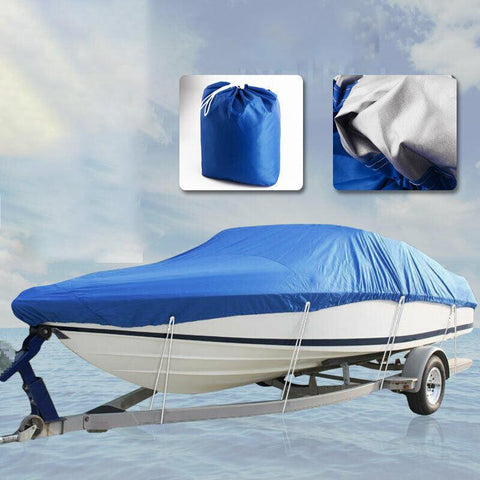 14 15 16ft Trailerable Fishing Ski Waterproof Boat Cover - YITAMotor