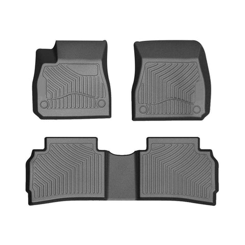 Floor Mats Floor Liners For 2016-2019 Chevrolet Malibu 1st 2nd Row Heavy Duty Rubber All Weather Protection - YITAMotor