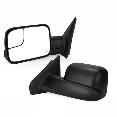 02-08 RAM 1500 03-09 2500 3500 Power Heated Driver Left Side Tow Mirror - YITAMotor