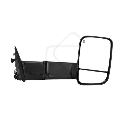 Compatible for 2009-2015 Dodge RAM 1500, 2010-2015 RAM 2500 3500 Passenger Right Side Tow Mirror, Power Heated Truck Mirror Manual - YITAMotor