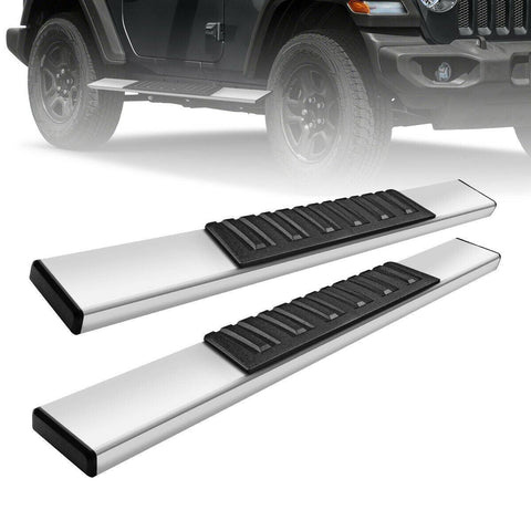 "YITAMOTOR® Running Board for 2018-2021 Jeep Wrangler JL 2DR 6"" Nerf Bar Side Step"