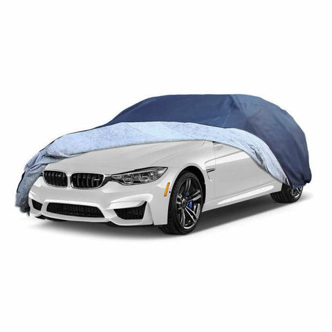 Waterproof Breathable Anti Dust Rain Full Car Cover - YITAMotor