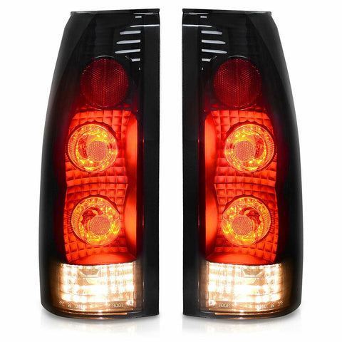 YITAMOTOR for 1988-1998 Chevy GMC C/K C10 Silverado Blazer Tahoe Tail Lights Pair