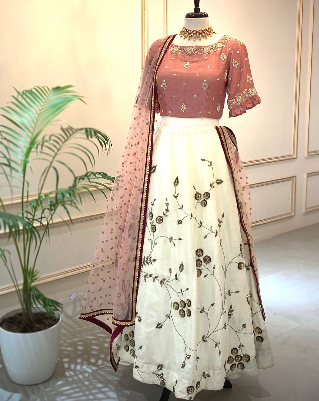 Lehenga for a summer day