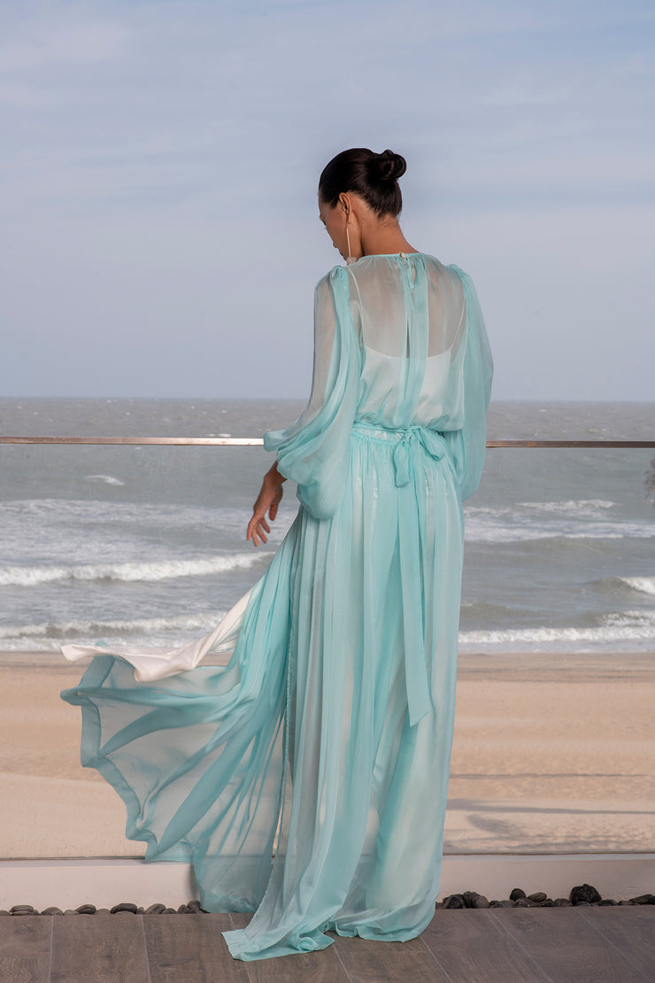 Chiffon Flowy Dress