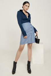 Pencil Skirt Denim