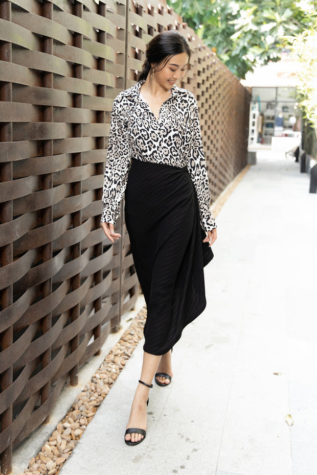 Elegant Chic Office Skirt