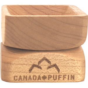 Canada Puffin maple wood and metal herb grinded