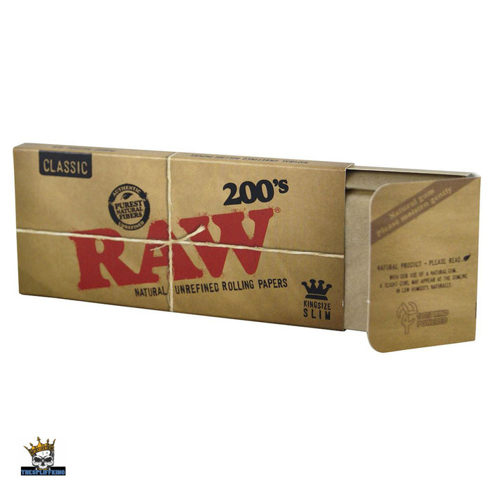 RAW 200'S CLASSIC PAPERS, KING SIZE