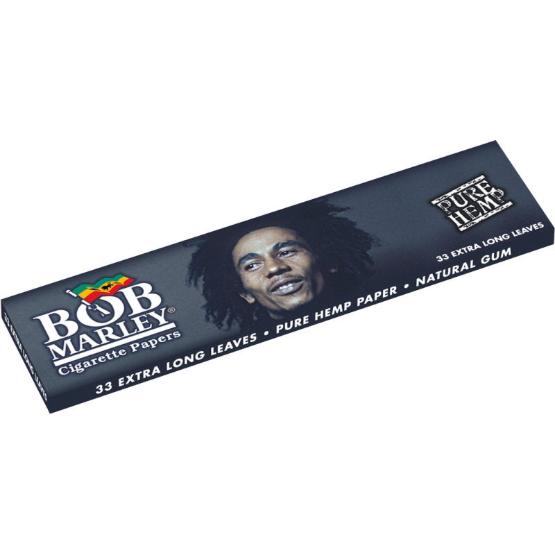 Bob Marley Hemp Rolling Papers, King Size Extra Long