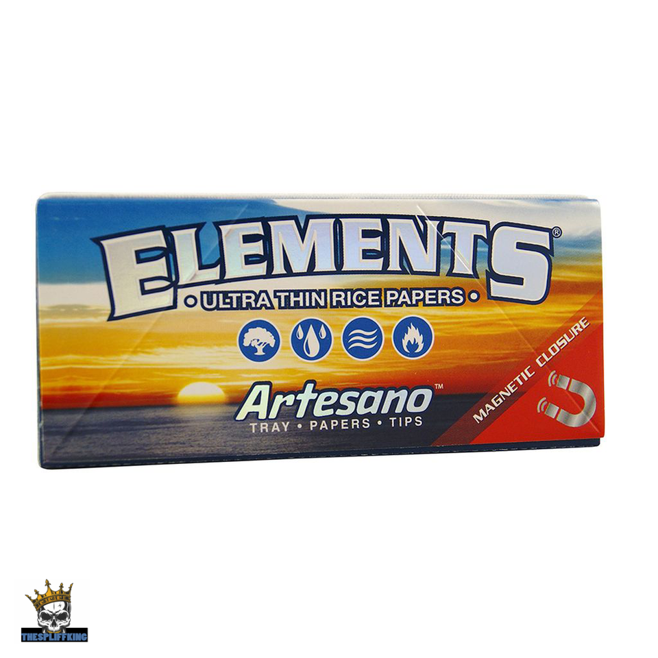 ELEMENTS ARTESANO CLASSIC, KING SIZE SLIM WITH TIPS & TRAY