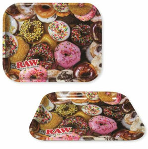 Raw Rolling Tray Donut Design, Large