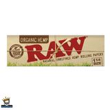 Raw Organic Hemp Rolling Papers, Mid Size