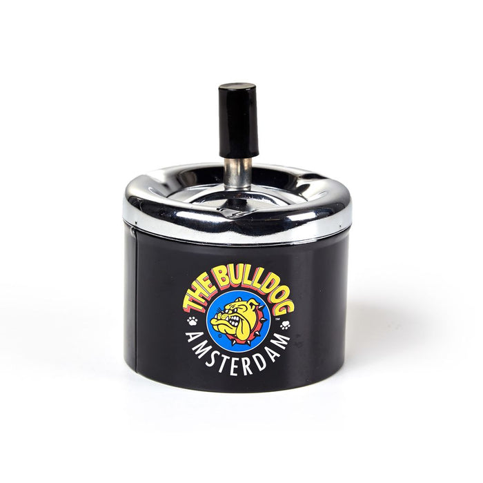 The Bulldog Ashtray with Spinning Lid