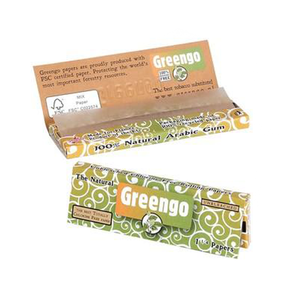 Greengo Slim Rolling Papers, Regular Size