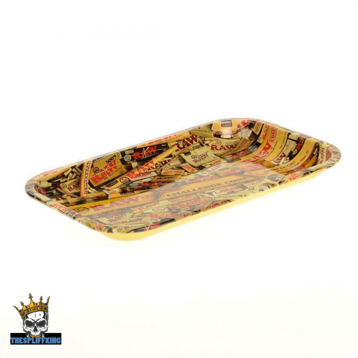 Raw Rolling Tray Mixed Design, Large