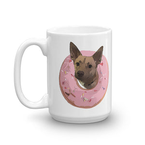 Donutz The Dog - Mug - Book and Self
