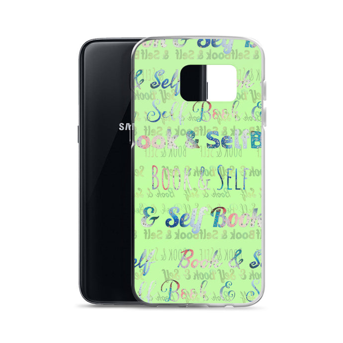 Book & Self Green Burn Book Case - Samsung Case - Book and Self