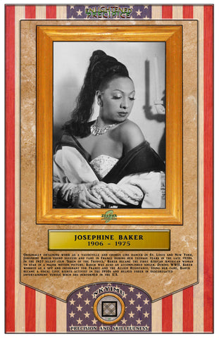 ENLIGHTENED PRECIPICE 3D BLACK HISTORY (AMERICA): Josephine Baker 3D Special Edition Poster