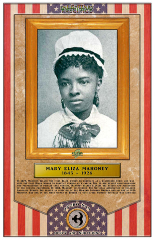 ENLIGHTENED PRECIPICE 3D BLACK HISTORY (AMERICA): Mary Ann Mahoney 3D Special Edition Poster