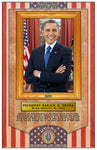 ENLIGHTENED PRECIPICE 3D BLACK HISTORY (AMERICA): President Barack Obama 3D Special Edition Poster