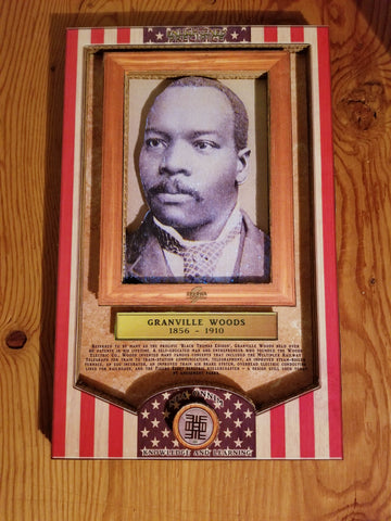 ENLIGHTENED PRECIPICE 3D BLACK HISTORY (AMERICA): Granville Woods 3D Special Edition Poster